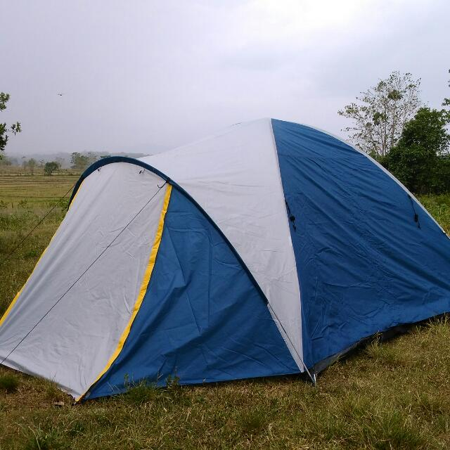 5 Person Dome Tent With Vestibule