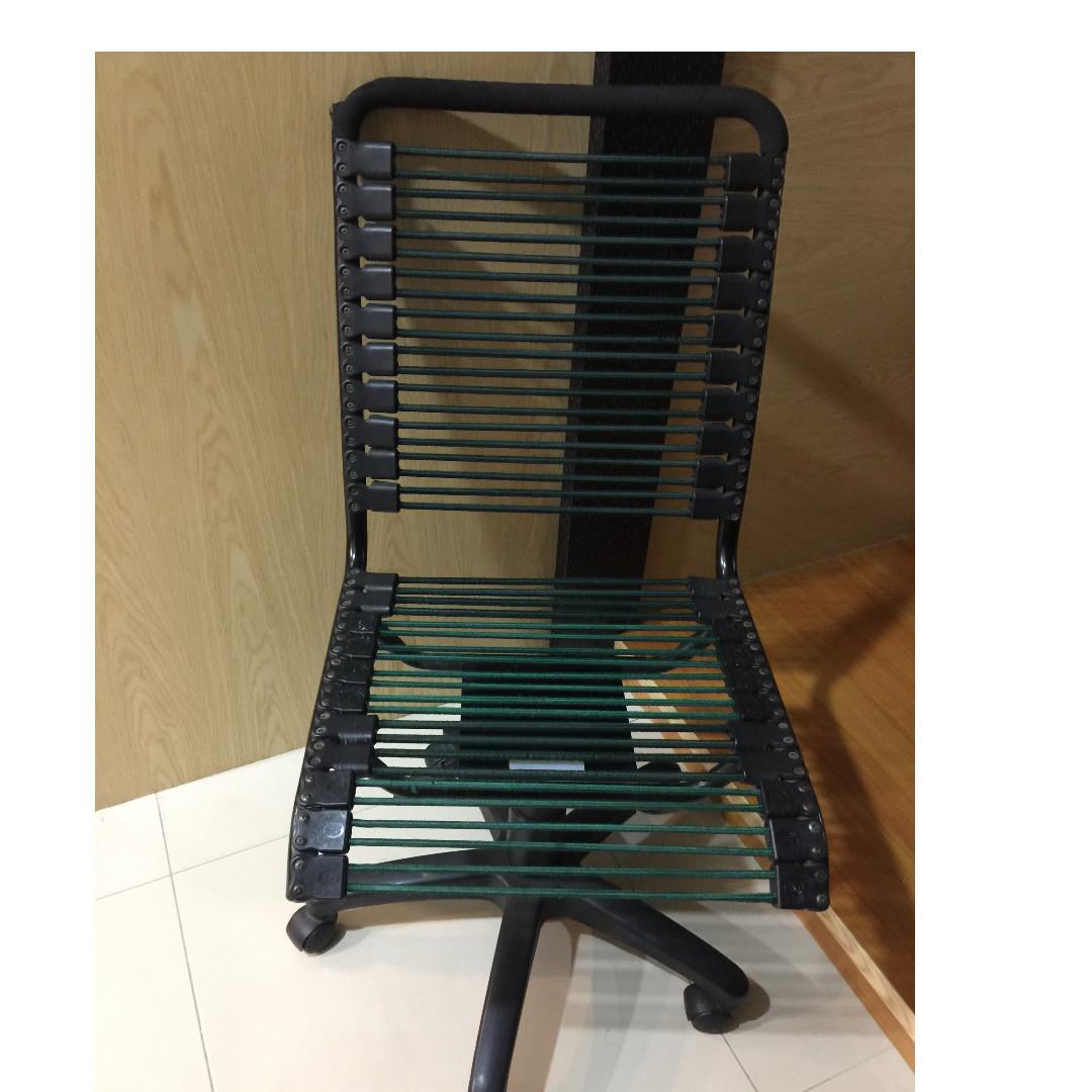 二手電腦彈簧繩椅