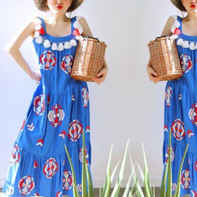 正韓 波希米亞風洋裝
