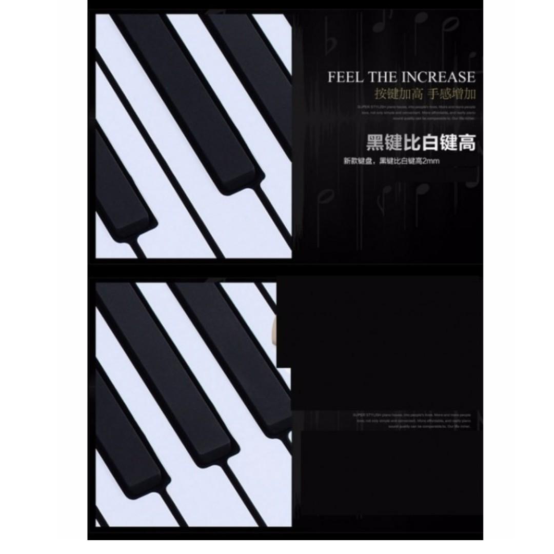 深水埗地舖 專業 88鍵 手卷琴 電腦 MIDI 電子琴 手捲琴 琴 Rolling piano keyboard 送火牛 送踏板手卷琴 電腦 MIDI 電子琴 手捲琴 琴 Rolling piano keyboard