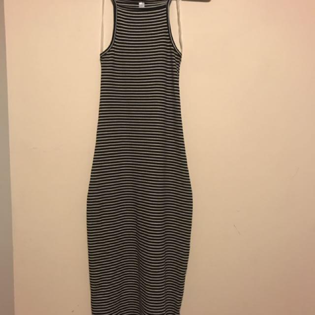 AA Midi Halter Dress