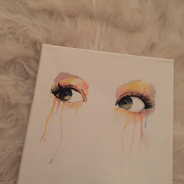 Accepting offers for my paintings :)