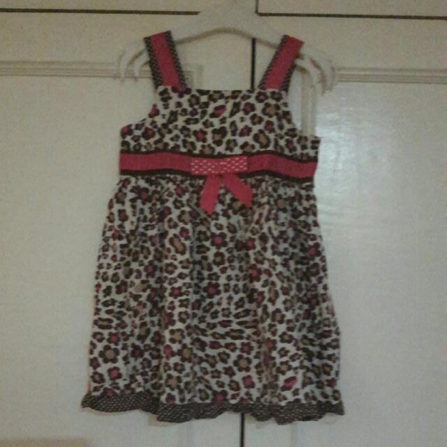 Animal Print Dress (2T)
