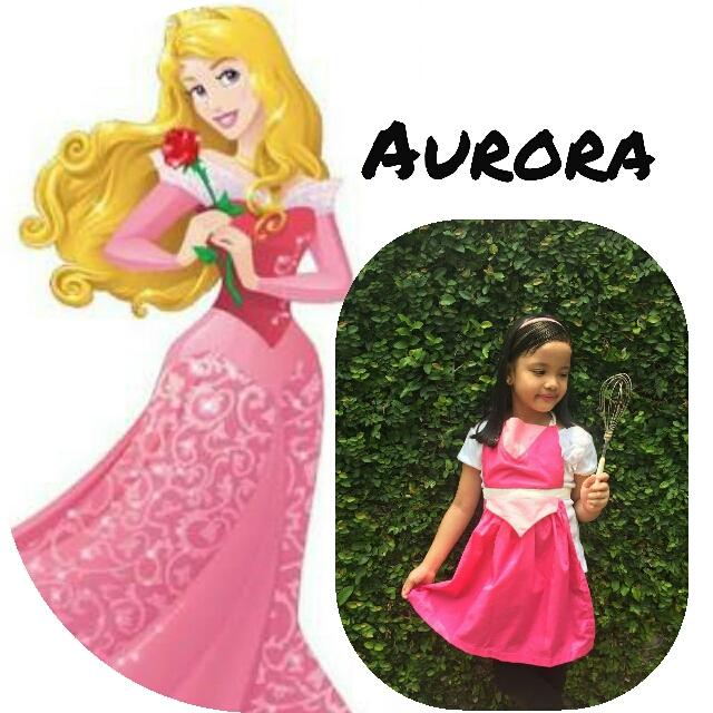 Aurora Disney Apron costume