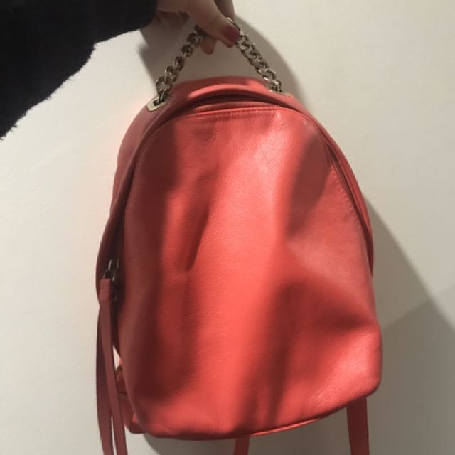Authentic Furla Genuine Leather Backpack