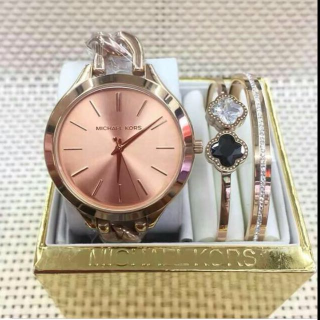 Authentic Michael Kors Watches with Bangles/Bracelet