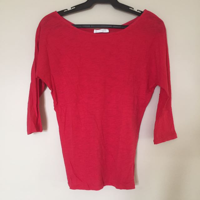 Basic Red Promod Top