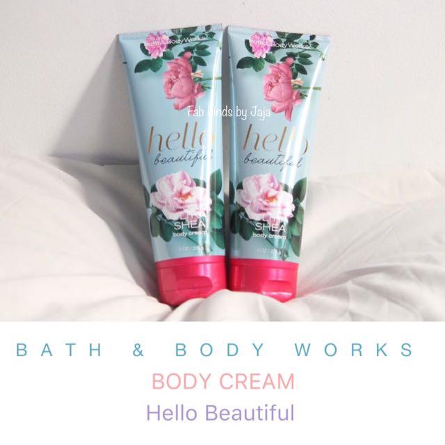 Bath & Body Works Body Cream Hello Beautiful