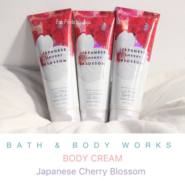Bath & Body Works Body Cream Japanese Cherry Blossom