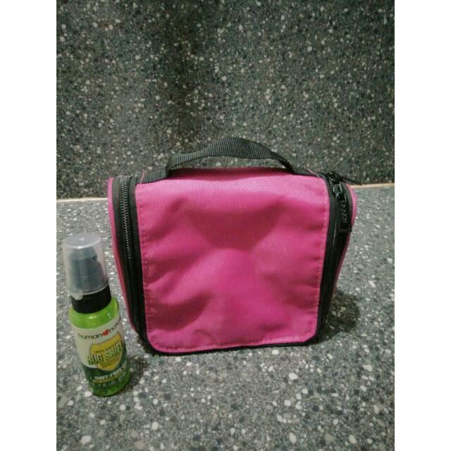 Beabi Toiletry Organizer Bag In Pink