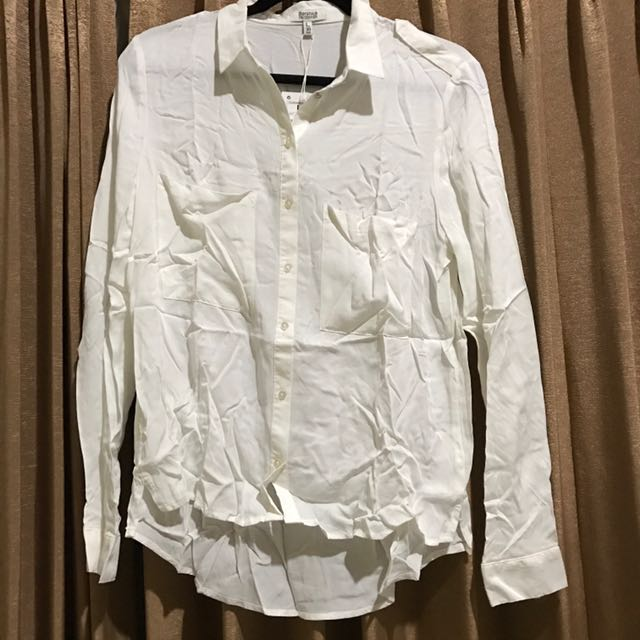 bershka white shirt
