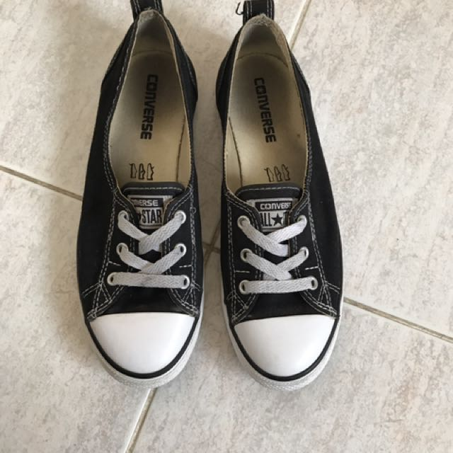 Black And White Converses