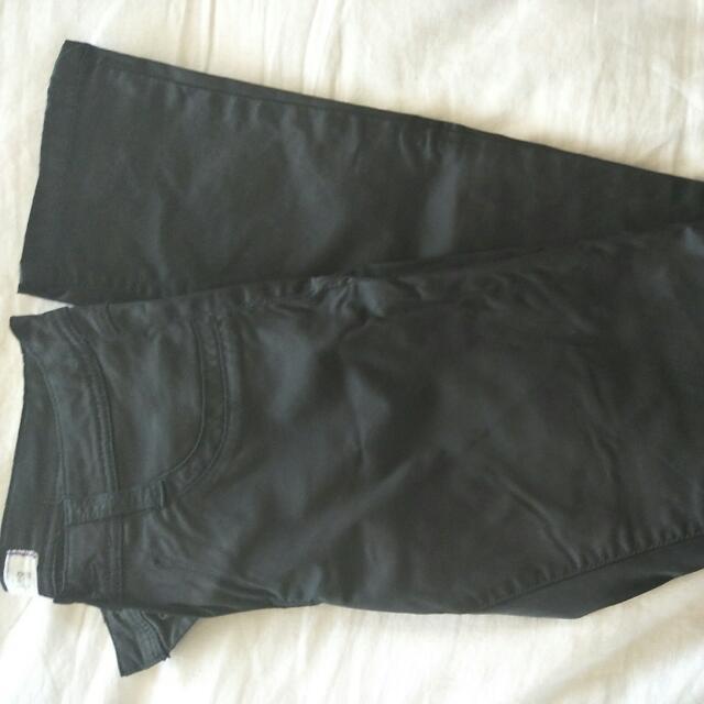 Black Skinny Leg Glassons Jeans