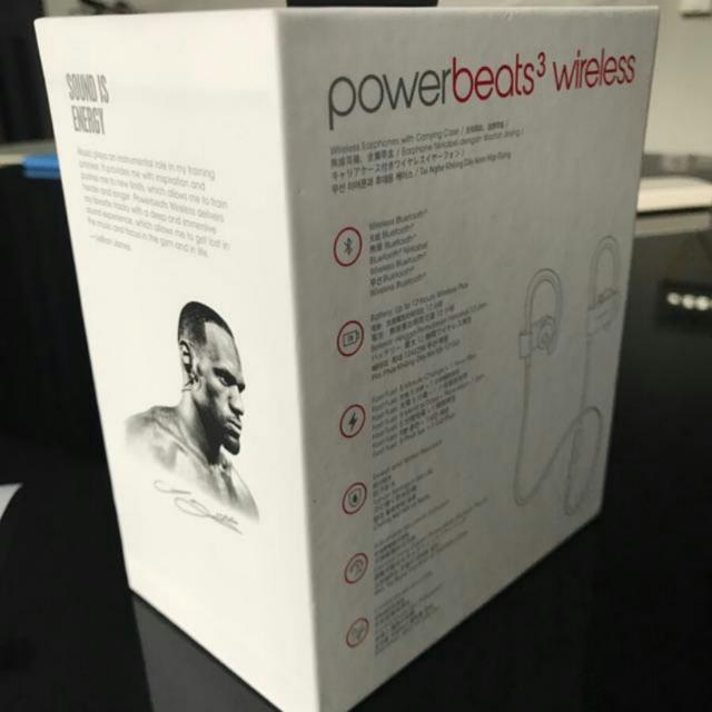 BNIB AUTHENTIC  Wireless Powerbeats 3