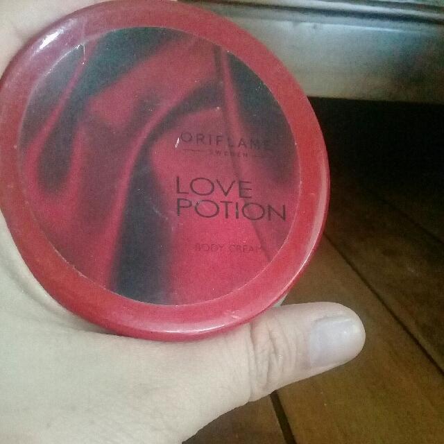 Body Cream Love Potion
