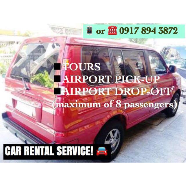 Car Rental Service (CEBU)
