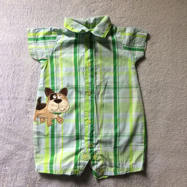 Carters Polo Romper