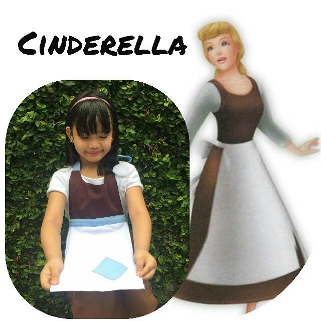 Cinderella Disney Apron costume