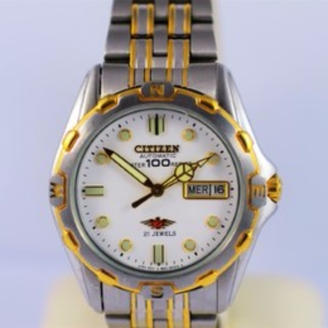 Citizen Automatic 21 Jewel Eagle Watch