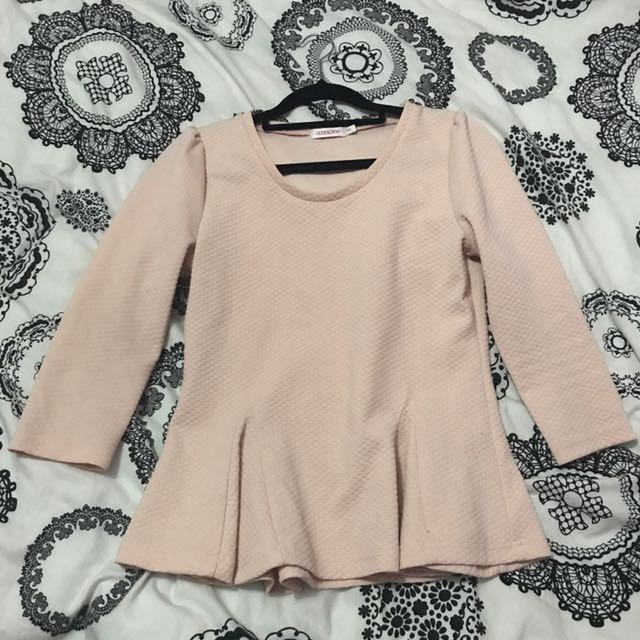 Cute Peplum Top