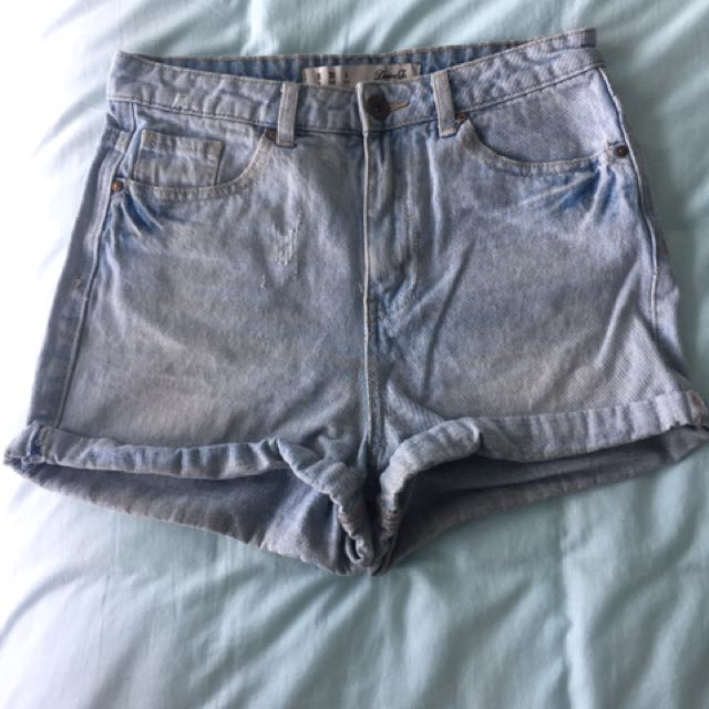Denim Co Denim Shorts