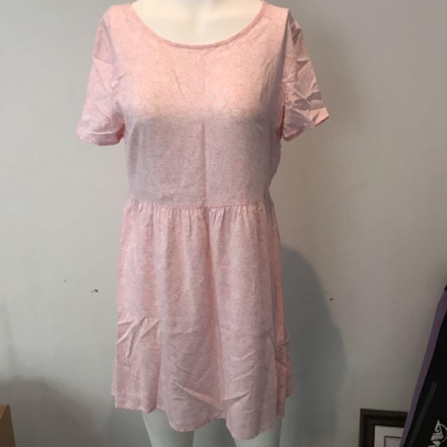 Divided H & M Pink Dress