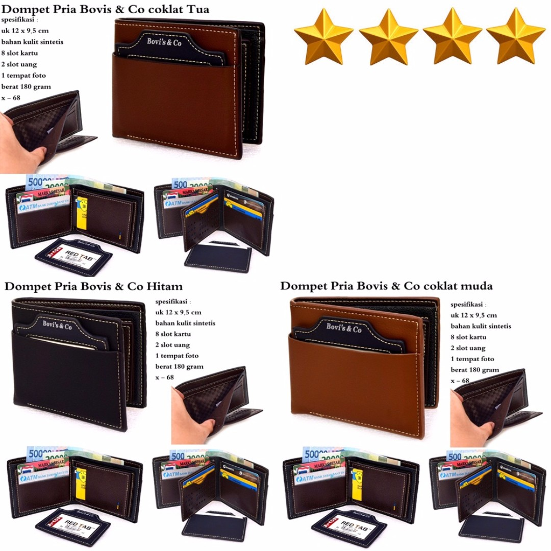 Bovis Dompet Premium Pria Cokelat Daftar Harga Terbaru Dan 952 Murah Cowok Import Original Co Olshop Fashion