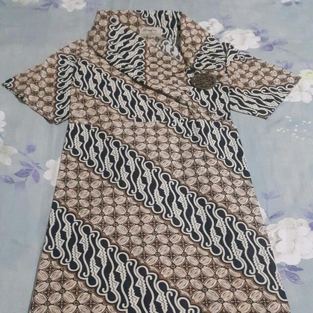 Dress Batik Motif Parang