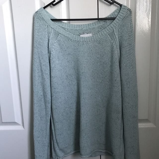 Element Light Blue Knit Jumper
