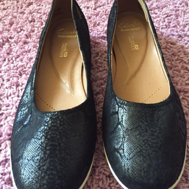 Flat Black Shoes