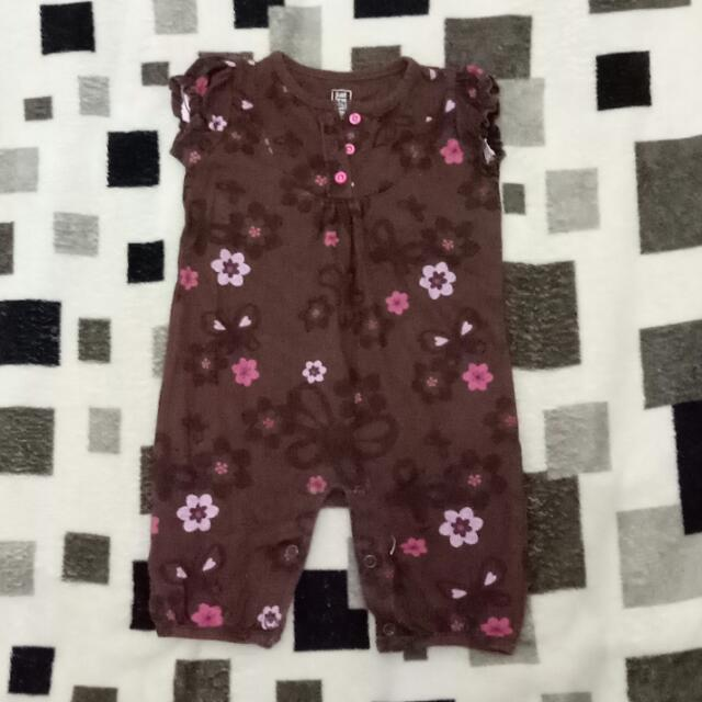 *SALE!!! floral overall