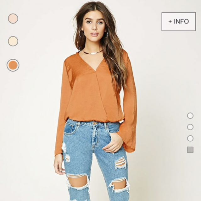 Forever 21 Bell Top