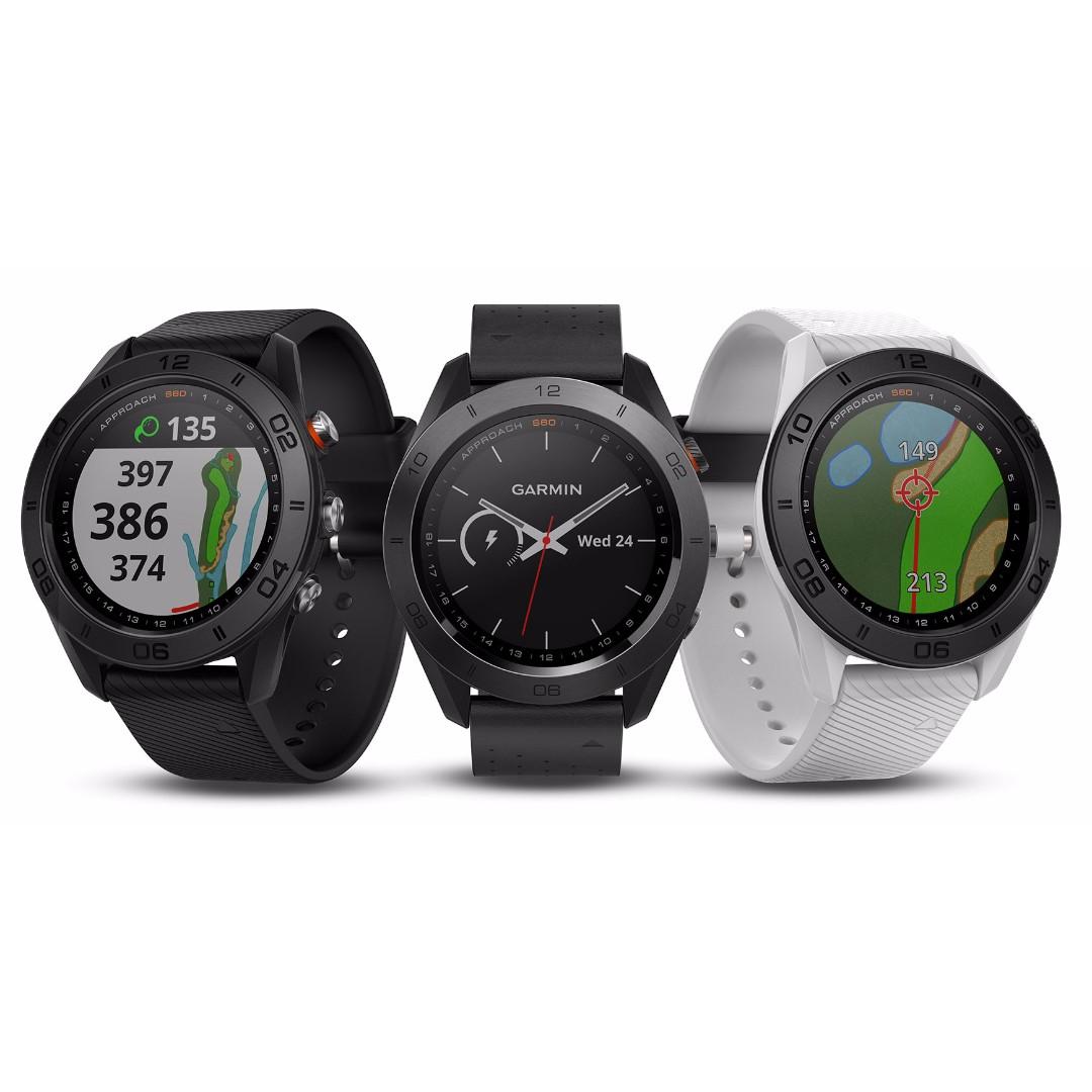 [PROMO VALID TILL 6th NOV] Garmin Approach S60 Golf GPS Watch / Garmin TruSwing Golf Club Sensor