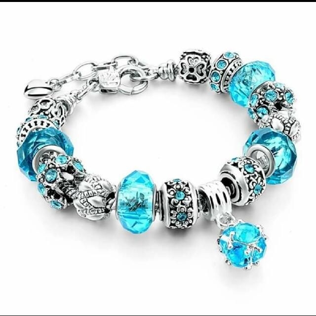 Glass Crystal Beads Bracelet