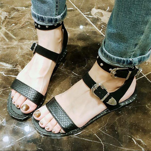 Grace Gift Angel C 聯名款 涼鞋