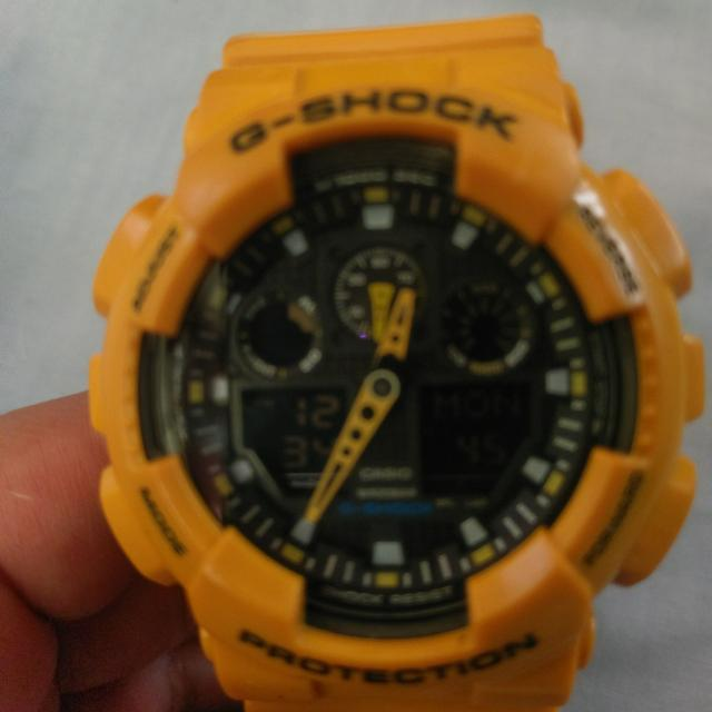 Gshock GA-100A Bumblebee