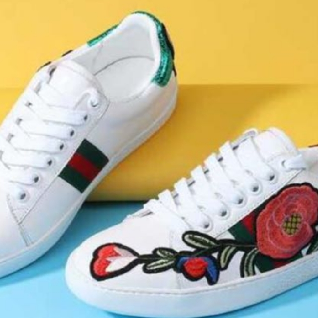 da4fc37f3c4 Gucci Inspired Ace Embroidered