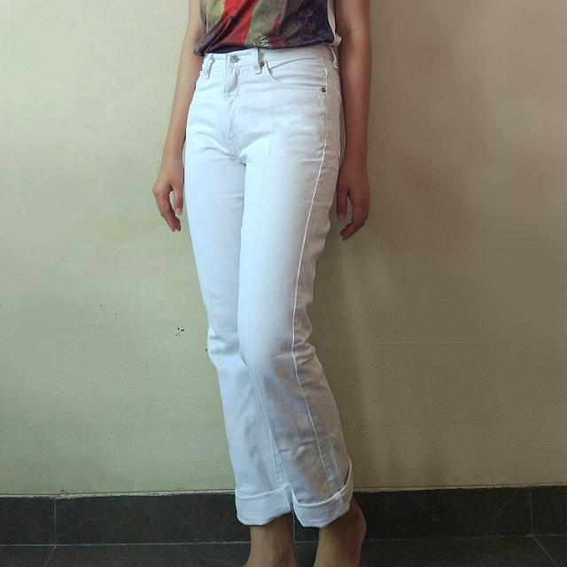 Guess Original White Jeans