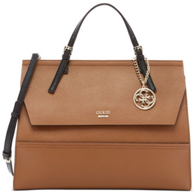 Guess Satchel Women's Brown Bag