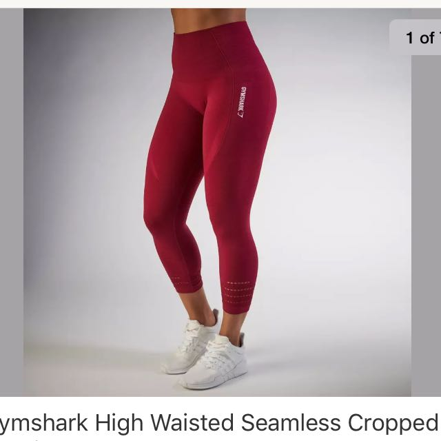 fd5d086111733 Gymshark Seamless Beet Leggings Xs, Women's Fashion, Clothes on Carousell