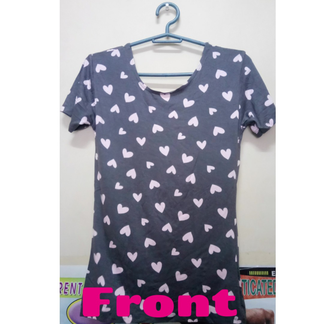 Heart Printed Shirt