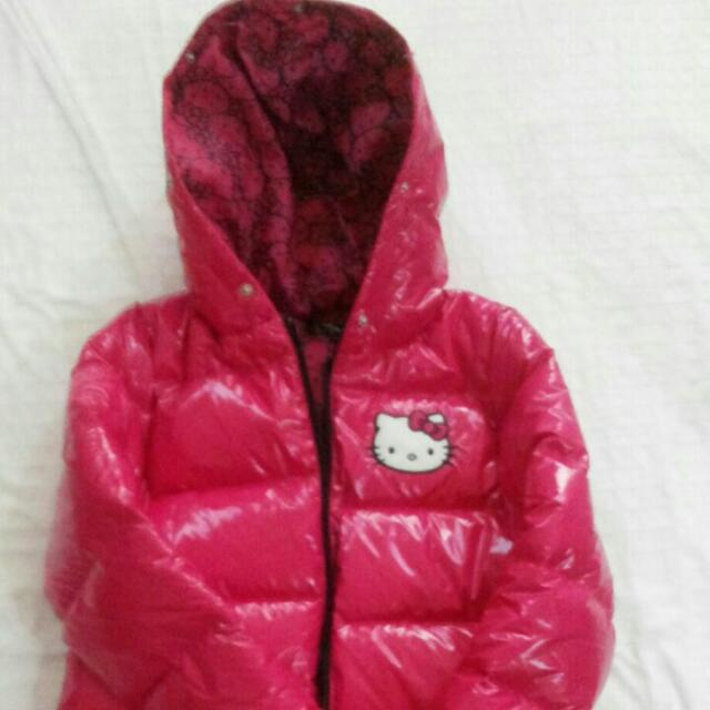 Repriced! Brand New Hello Kitty Puff Jacket