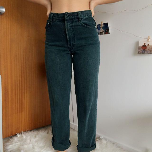 High Waisted Retro Jeans