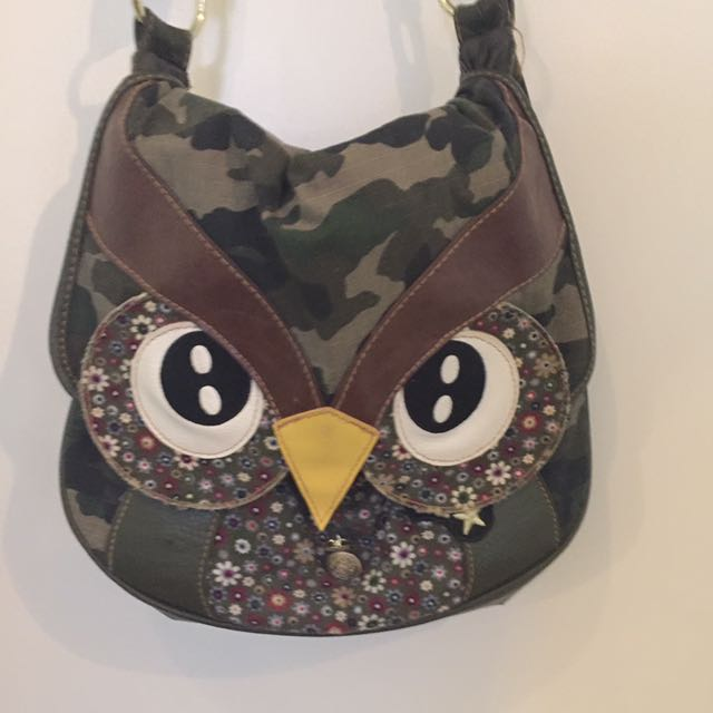 Owl Cross Body Bag