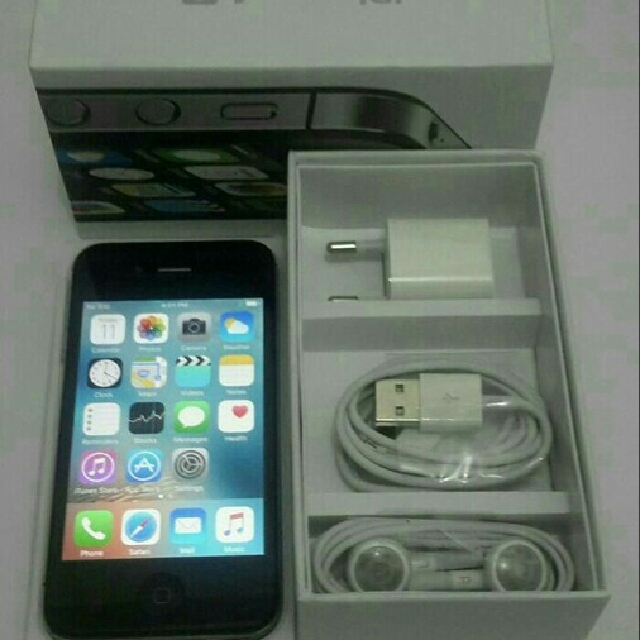 Iphone 4s 16gb Black Baru