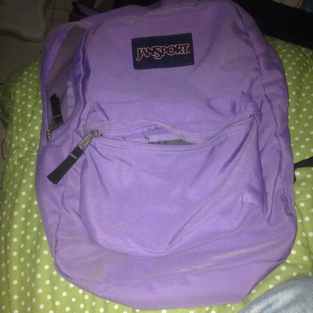 Jansport Original Warna Ungu Muda