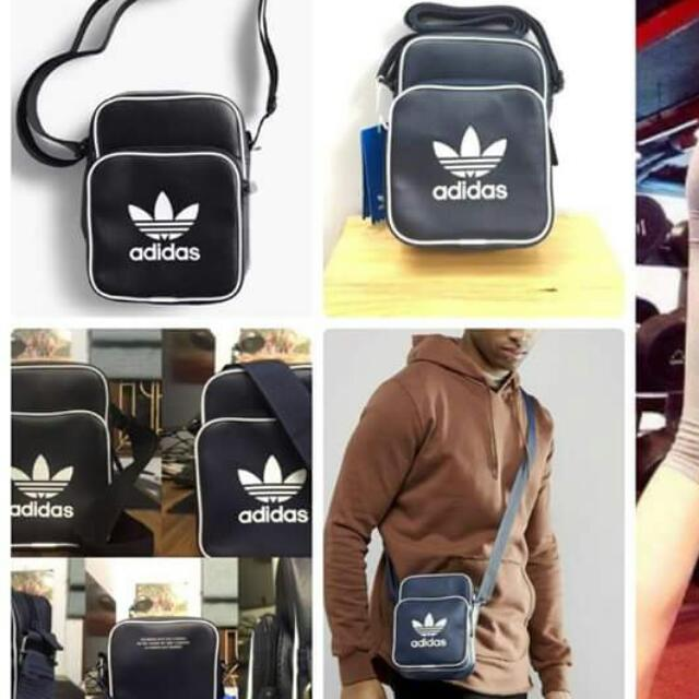 19dc02638a01 Japan Adidas Nmd Cross Body Crossbody Originals Mini Shoulder Bag Classic  Sling Travel Pouch Flight Nike Backpack Schoolbag the brand with 3 Stripes  ...