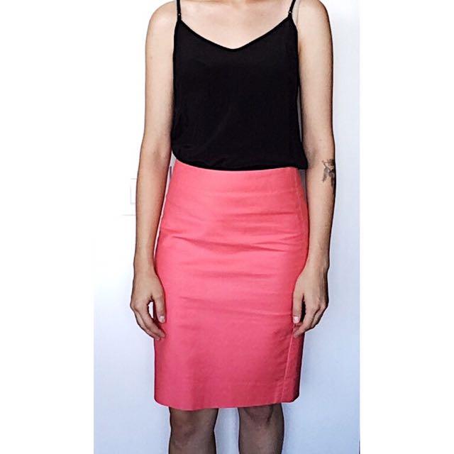 J.crew no. 2 Pencil Skirt Pink