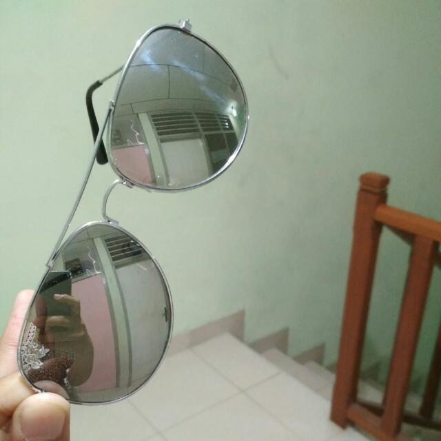 Kacamata Rayban Silver