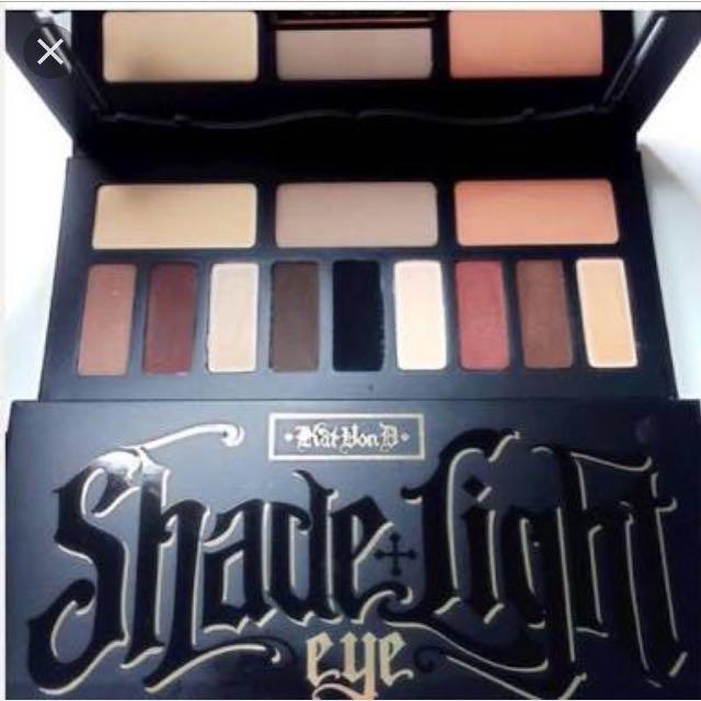 Kat Von D Shade and light Eye Pallete!!